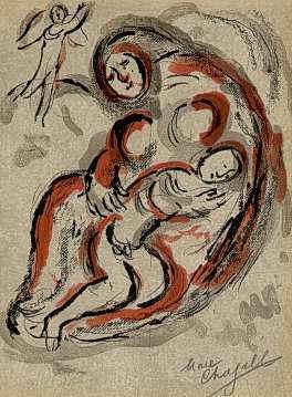Hagar e Ishmael -Chagall