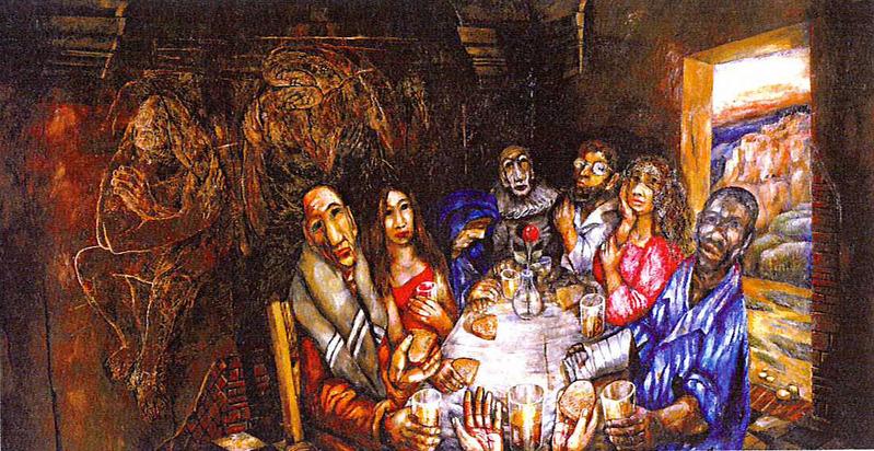 Cena peccatori for Vero cibo e il tuo corpo testo