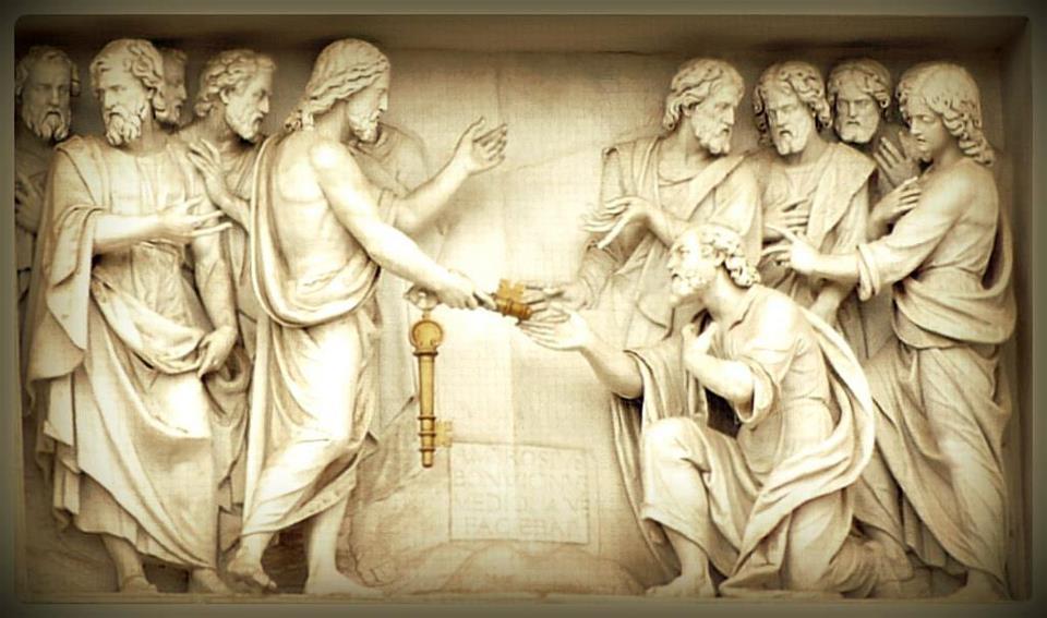 Consegna delle chiavi san Pietro