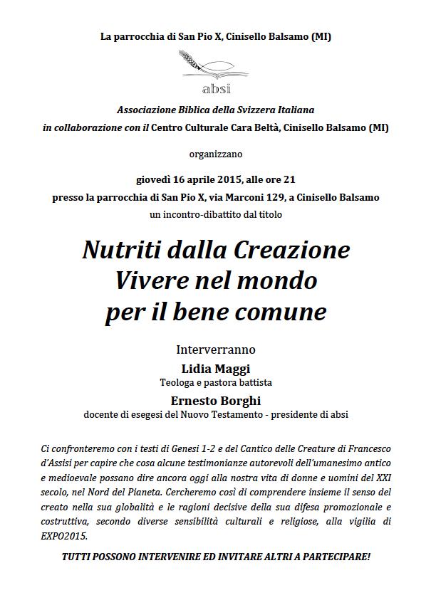 Cinisello Balsamo 2015-04-16