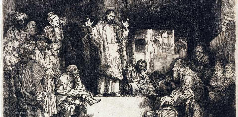 Gesù che insegna