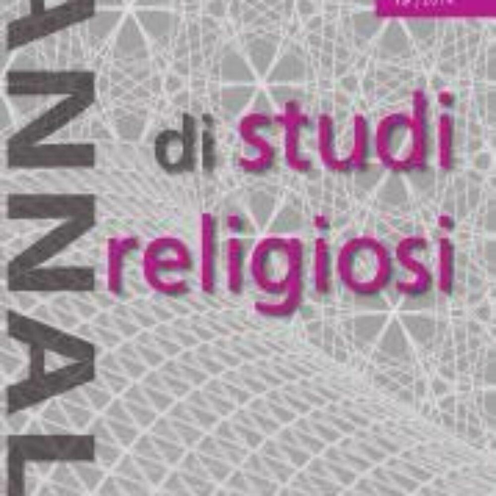 0 . Annali ISR 15 copertina