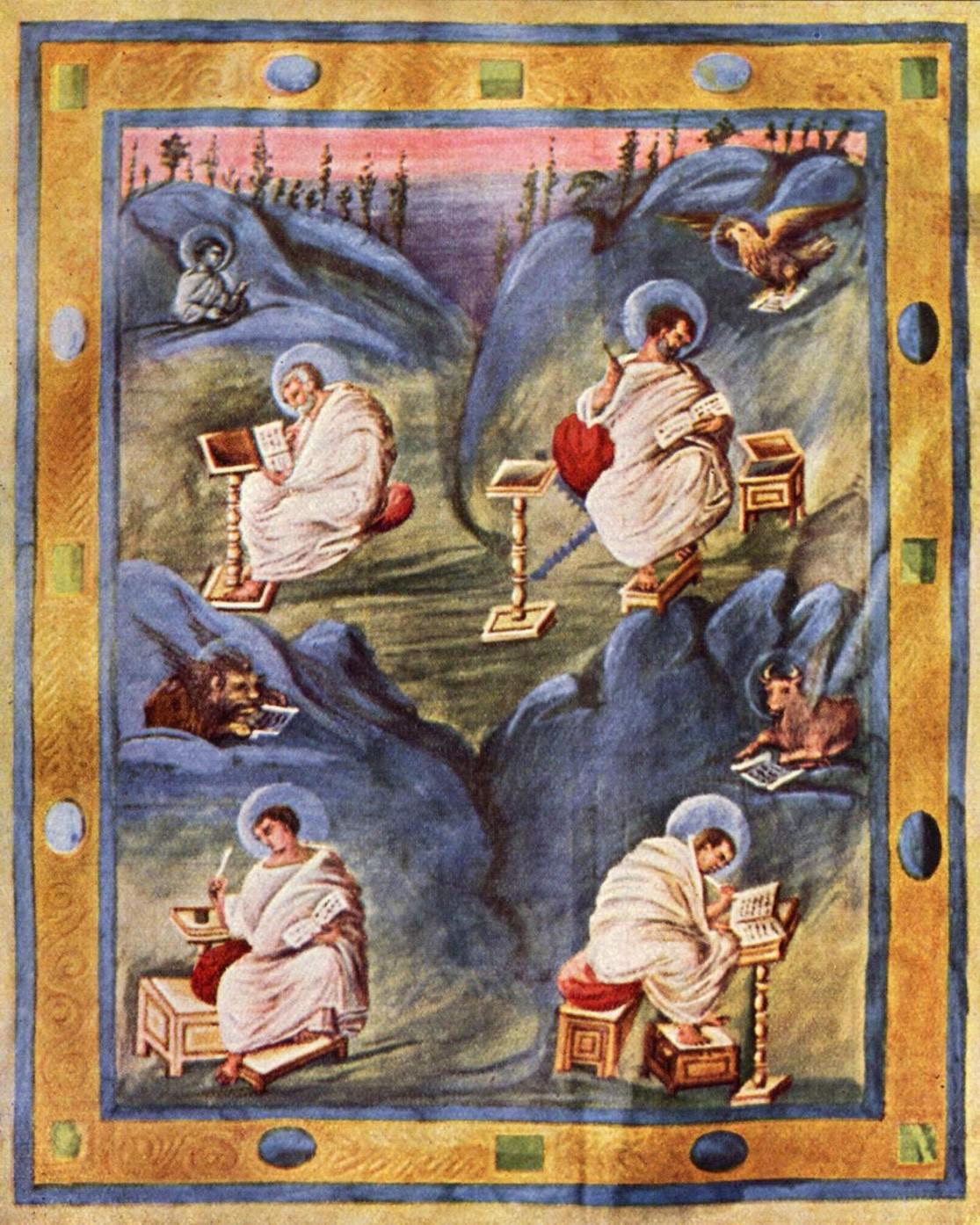 Evangelisten_Karolingischer_Buchmaler_um_820_001