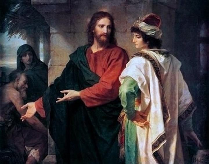 Jesus und der reiche _Hofmann