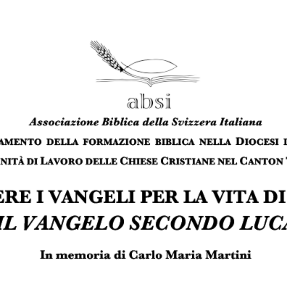 CORSI-Letture vangelo Luca 2018-2019